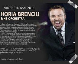 Concert Horia Brenciu in Club Obsession din Cluj Napoca