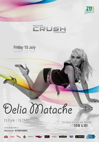 Delia Matache in Club Crush Mamaia