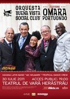 Omara Portuondo si Orchestra Buena Vista Social Club in Herastrau