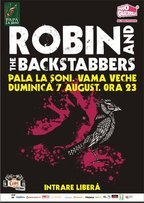 Concert Robin and The Backstabbers in Vama Veche
