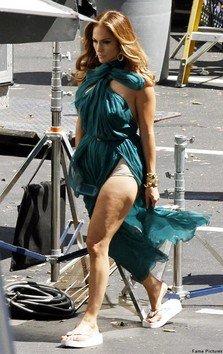 Jennifer Lopez a filmat videoclipul piesei Papi (foto+video)