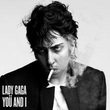 Lady GaGa - You and I (coperta single)