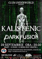 Kalistenic si Dark Fusion concert metal in Underworld