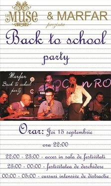Back To School Party @ La Muse