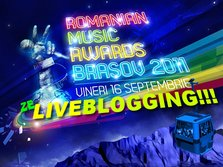 Diseara facem live blogging la Romanian Music Awards 2011 / RMA 2011!