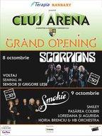 Concert Scorpions la Cluj Napoca!