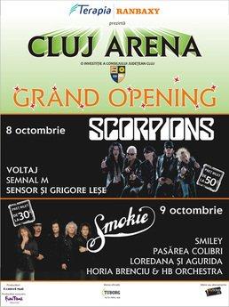 Concert Smokie la Cluj Arena