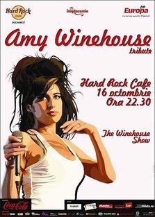 The Winehouse Show in Hard Rock Cafe Bucuresti