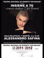 Concert Alessandro Safina - Insieme a te la Sala Palatului!