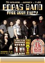 Free Beer Party in Jukebox Venue cu Popas Band