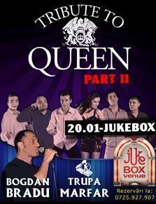 TRIBUTE TO QUEEN II in Jukebox Venue