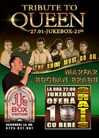 Tribute to Queen cu Marfar si Bogdan Bradu in Jukebox Venue