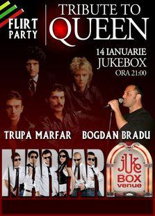 Tribute to Queen in Jukebox Venue