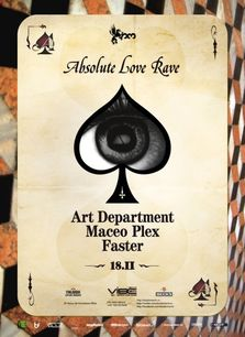 Absolute Love Rave: Art Department, Maceo Plex @Studio Martin