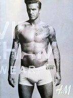 David Beckham in lenjerie pentru H&M