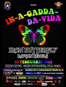 Iron Butterfly si Raygun Rebels @Hard Rock Cafe