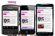 Am lansat varianta de mobil - m.urban.ro