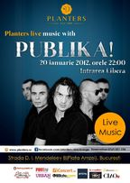 Club Planters Live Music with PUBLIKA!