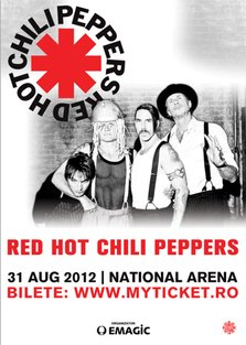 RED HOT CHILI PEPPERS - concert la National Arena Bucuresti