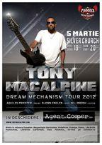 Concert Tony MacAlpine in The Silver Church la Bucuresti!
