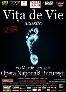 Concert Vita de Vie - aniversare de 15 ani!