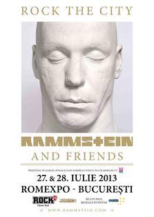 Rammstein in concert la Rock The City 2013 (bilete)
