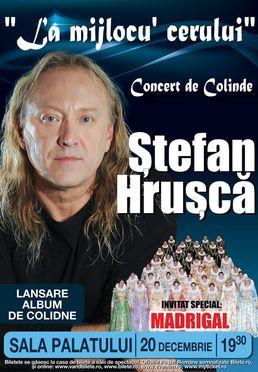 Stefan Hrusca - Concert de Craciun la Sala Palatului