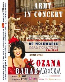 Army in concert cu Ozana Barabancea la Sala Palatului!