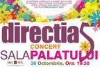 Concurs! Castiga 5 invitatii duble la concertul Directia 5 de la Sala Palatului!