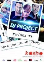 Concert DJ Project in Kasho Club Brasov!