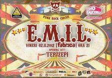 Concert E.M.I.L. si Tep Zepi in club Fabrica
