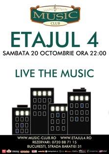 Concert Etajul 4 in Music Club