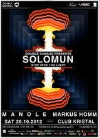 Double Damage: Solomun si Markus Homm @Club Kristal
