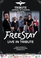 Concert FreeStay in Tribute Club Bucuresti