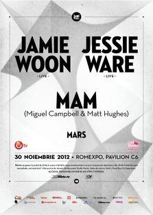 Jamie Woon, Jessie Ware, MAM in concert la Romexpo