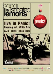 Sophisticated Lemons si White Ash @Panic!