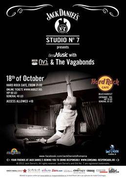 Concert OVI & The Vagabonds la Hard Rock Cafe