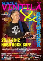 Concert Mircea Vintila si Brambura in Hard Rock Cafe