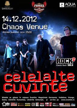 Concert Celelalte Cuvinte in Chaos Venue