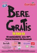 Concert Bere Gratis - IN FATA TA - live la TNB!