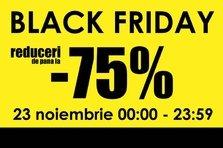 """Black Friday"" promotii speciale - bilete la concerte!"