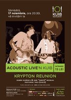 Concert Krypton acoustic live in Kuib!