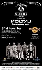 Concert Voltaj la Hard Rock Cafe din Bucuresti!