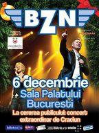 Concert BZN la Sala Palatului din Bucuresti