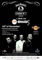 Concurs! 2 invitatii duble la concertul Directia 5 de la Hard Rock Cafe