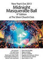 Midnight Masquerade Ball 4th Edition @The Silver Church