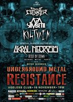 Underground Metal Resistance in Ageless Club!