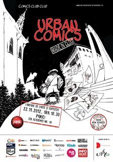 Lansarea antologiei Urban Comics si afterparty in Panic!