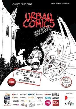 Lansarea antologiei Urban Comics si afterparty in Panic!