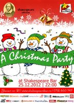 Christmas Party in Shakespeare Bar